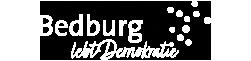 Bedburg lebt Demokratie Logo